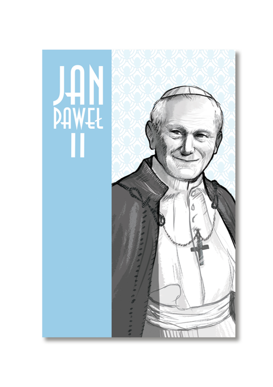 POCZTÓWKA PAPIEŻ JAN PAWEŁ II